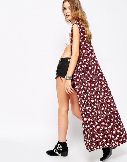 Kimono long Glamourous - sélection shopping spéciale festival - Charonbelli's blog mode