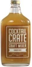 COCKTAIL CRATE Préparation pour cocktail gingembre miel expo Brooklyn Rive Gauche au Bon Marché - Charonbelli's blog mode