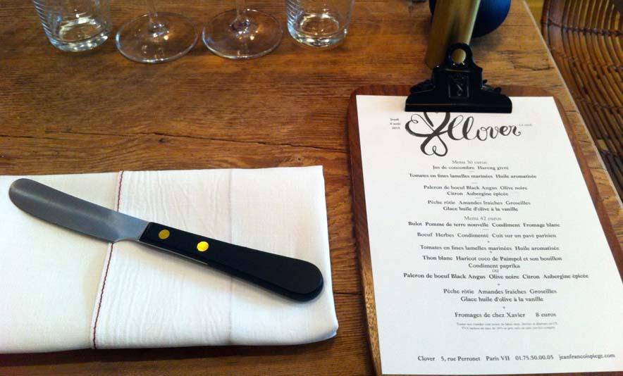 J'ai testé Clover le nouveau restaurant de Jean-François Piège - Photo à la Une - Charonbelli's blog mode