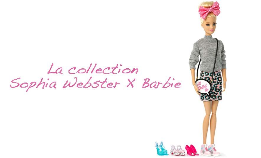 La collection Sophia Webster X Barbie - Photo à la Une - Charonbelli's blog mode