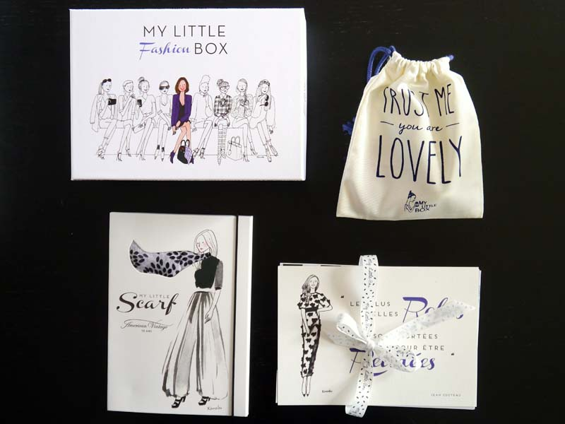 La revue de My Little fashion box avec American Vintage - Charonbelli's blog beauté