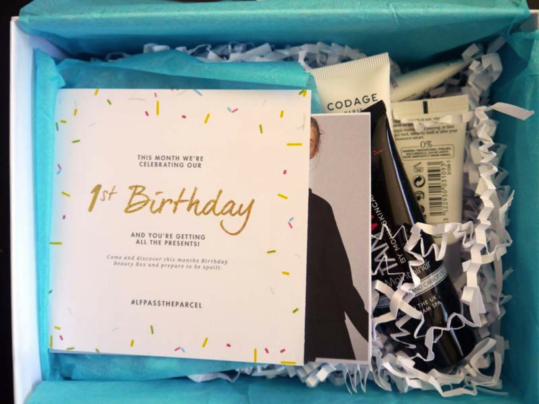 Look Fantastic 1st Birthday beauty box - le récap ! (2) - Charonbelli's blog beauté