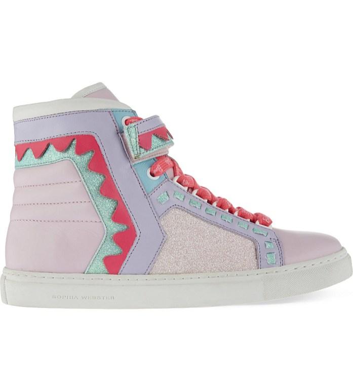 Sophia Webster Barbie Riko leather trainers - Charonbelli's blog mode