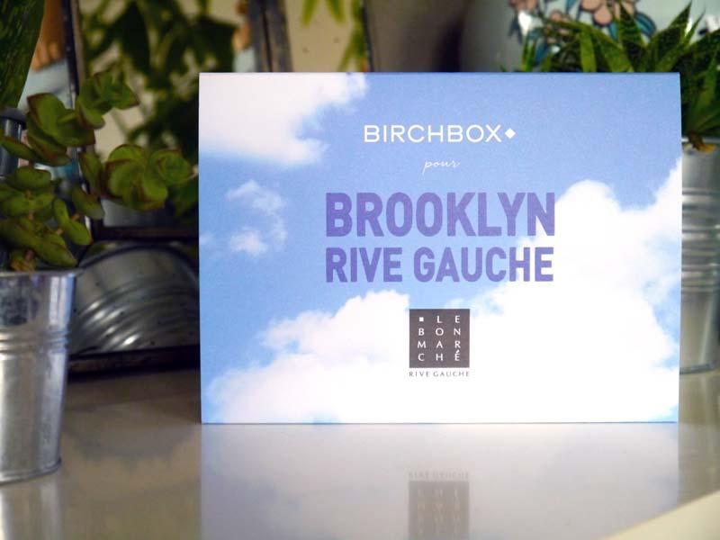 Birchbox Brooklyn Rive gauche - Charonbelli's blog beauté