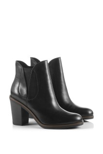 Bottines Chealsea en cuir Esprit - Charonbelli's blog mode