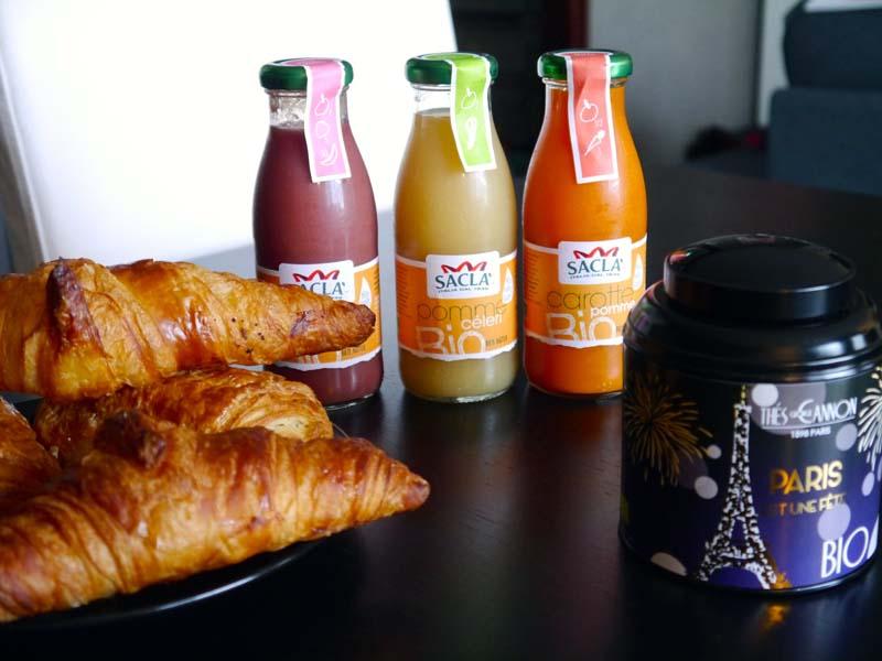Mes petits plaisirs du matin avec les thés George Cannon et les jus Saclà - Charonbelli's blog mode beauté lifestyle