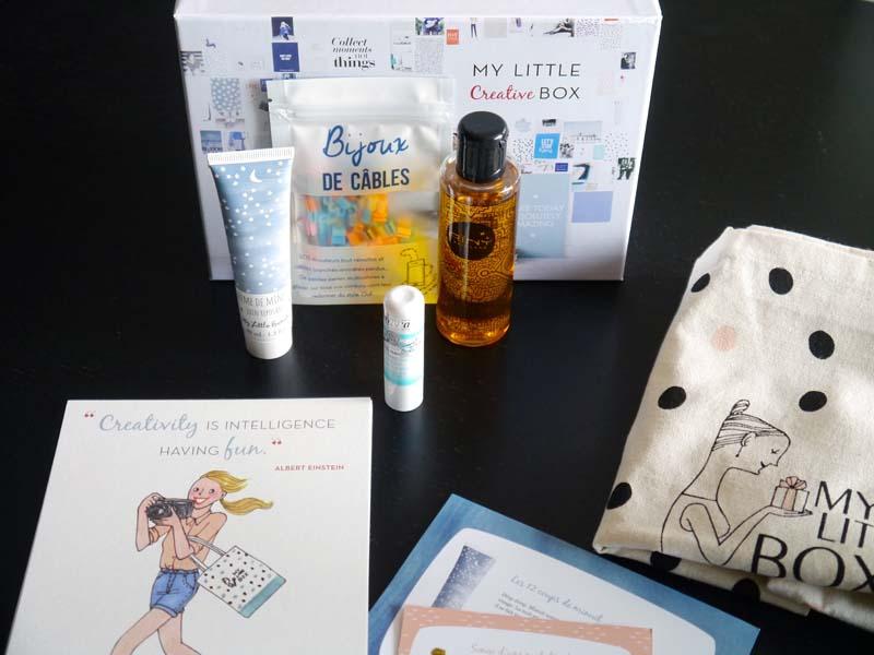 My Little Box créative du mois d'octobre (4) - Charonbelli's blog beauté
