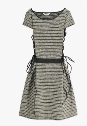 Robe à Lacets Naf Naf – La collection capsule exclusive de Georgia May Jagger pour Minelli – Charonbelli's blog mode