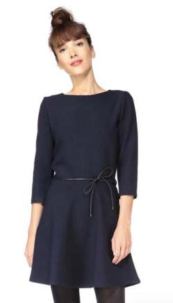 Robe ceinturée Sessun - Charonbelli's blog mode