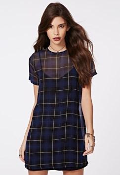 Robe t-shirt Bonnie à carreaux Missguide - Charonbelli's blog mode
