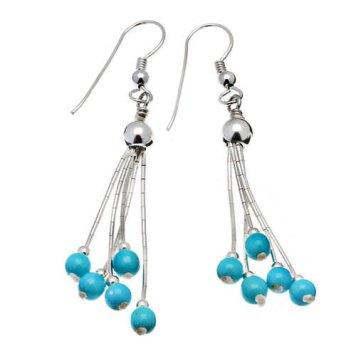 Boucles d'oreilles liquid silver Harpo - Charonbelli's blog mode