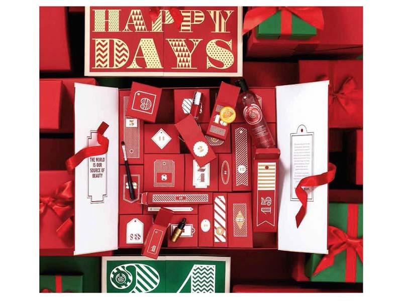 Calendrier de l'Avent The Body Shop - Je veux un calendrier de l'Avent beauté ! - Charonbelli's blog beauté
