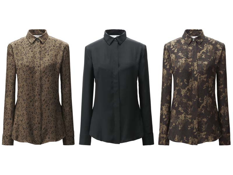 Chemise - Carine Roitfeld X Uniqlo - la collection capsule ultra chic enfin disponible ! - Charonbelli's blog mode