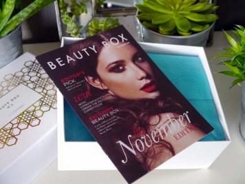 Le récap' de ma box beauté Lookfantastic du mois de novembre (2) - Charonbelli's blog beauté