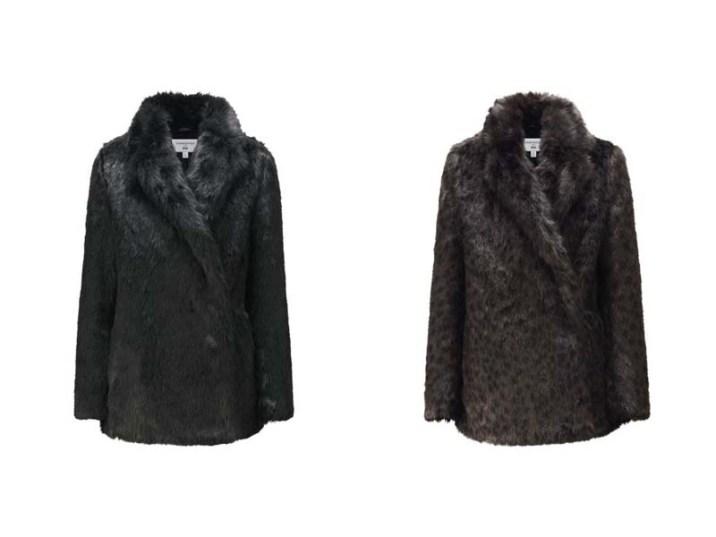Manteau fourrure - Carine Roitfeld X Uniqlo - la collection capsule ultra chic enfin disponible ! - Charonbelli's blog mode