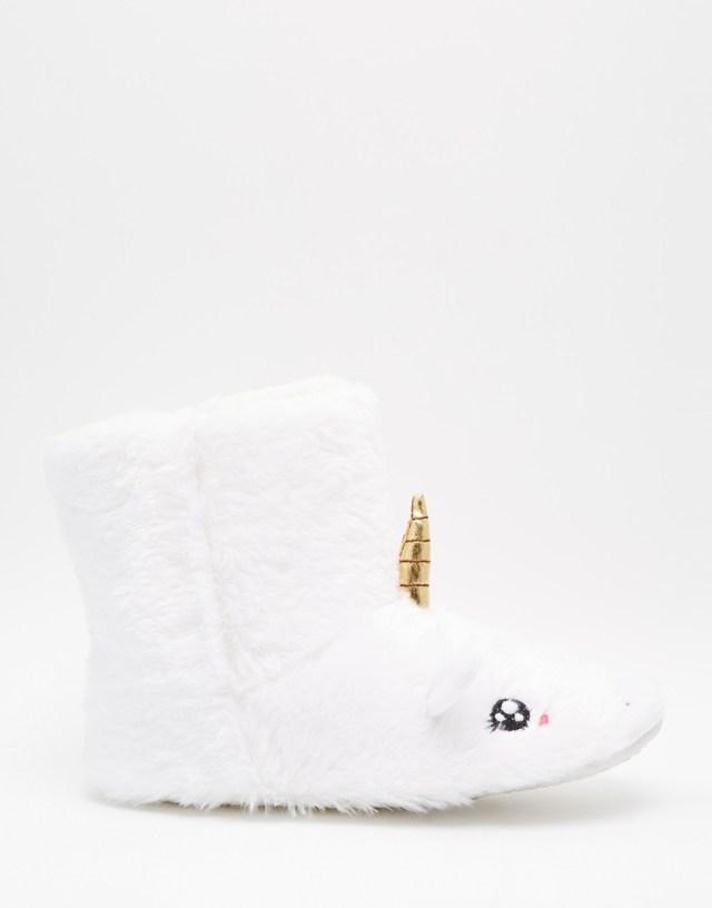 Pantoufles licorne Daisy Street Asos - Charonbelli's blog mode