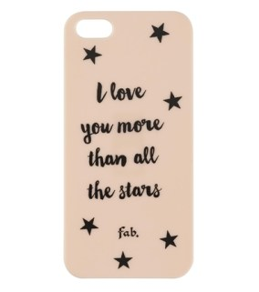 Coque iPhone 5:5S Fab X HEMA I love you more than all the stars - Charonbelli's blog mode et beaute