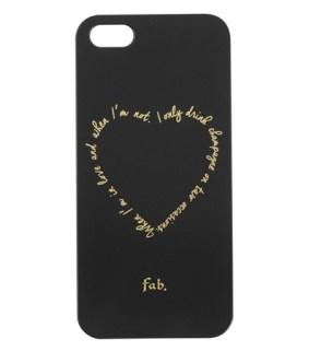 Coque iPhone 5:5s Fab X HEMA - Charonbelli's blog mode et beaute