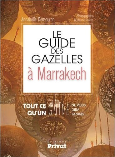 Le guide des gazelles à Marrakech Annabelle Demouron - Charonbelli's blog mode