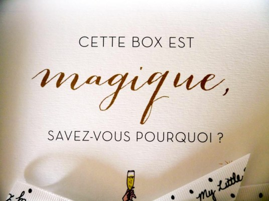 Le recap' de ma Little magique box (3) - Charonbelli's blog beaute