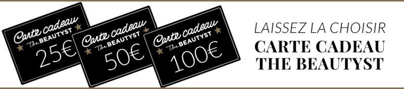Vite un cadeau de dernière minute ! - carte cadeau The Beautyst - Charonbelli's blog mode et beauté