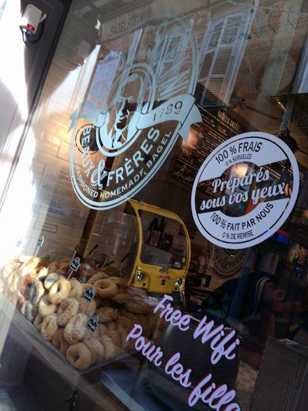 Le Roi du bagel Bagelstein est enfin arrive a Toulouse ! (5) - Charonbelli's blog lifestyle