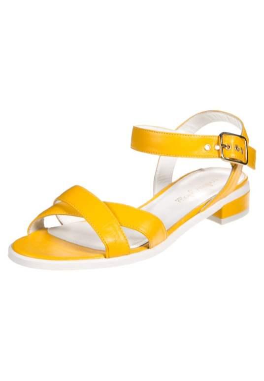 Sandales-serane-Mellow-Yellow-Charonbellis
