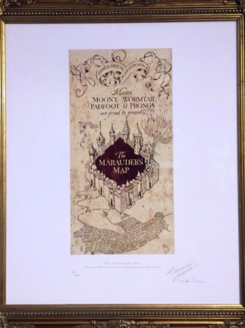 Marauders-map-Exhibition-Harry-Potter-House-of-MinaLima-London-Charonbellis