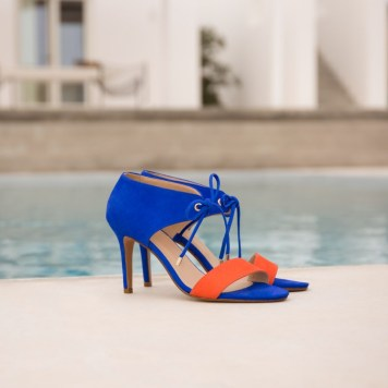 sandales-a-talon-la-java-bleu-aztek-and-orange-Bobbies-Charonbellis
