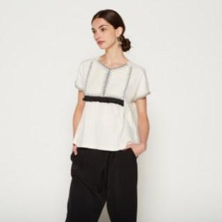 T-shirt-manches-courtes-brode-Monoprix-Charonbellis