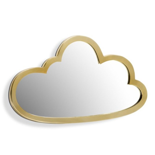 Miroir-nuage-laiton-AM-PM-Charonbellis