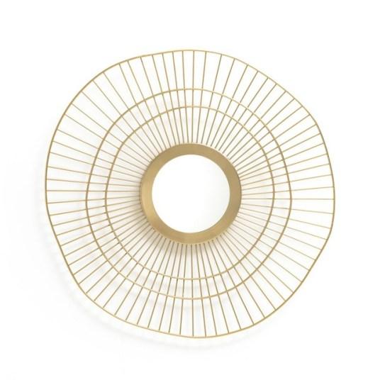 Miroir-soleil-laiton-Spyk-La-redoute-interieurs-Charonbellis