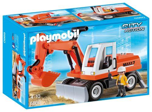 Playmobil-City-Action-6860-Tractopelle-avec-godet-Charonbellis