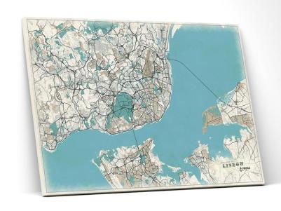 Carte-vintage-Lisbonne-Aquamaps-Etsy-Charonbellis