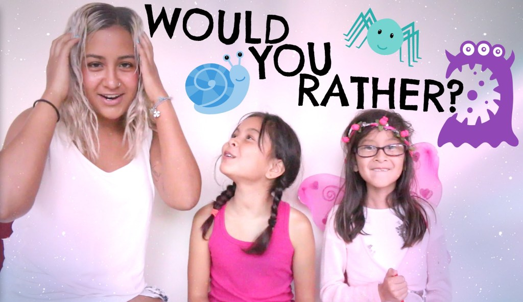 Weird Would you rather questions2