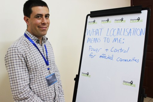 'We need localisation to give power and control to affected communities', Scott Paul, Oxfam, Nairobi 19.02.16