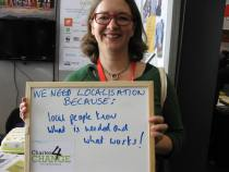 We Need Localisation because local people know what is needed and what works!, Bond Conference UK
