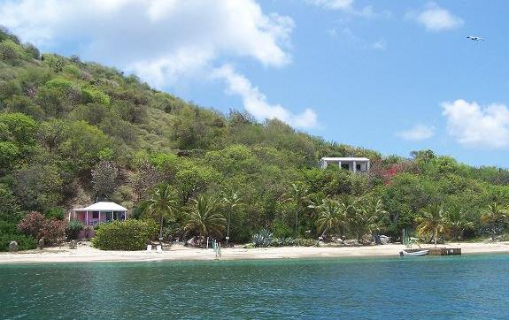 Beach Cottages of Cooper Island offers two getaway options.