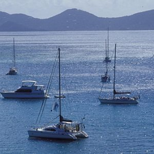 Caribbean BVI sailboats at Great Harbor, Jost Van Dyke, Photo by: Mark Goebel (Source: Flickr)