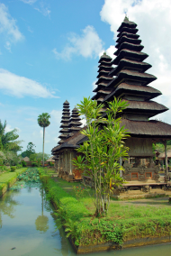 Pura Ulun Danu, temples dedicated to the lake goddess, Dewi Danu