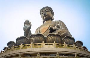 Tian Tan Buddah, also known as the Big Buddah, symbolizes the relationship between man and nature.