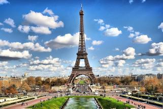 Paris most remarkable landmark, The Eiffel Tower