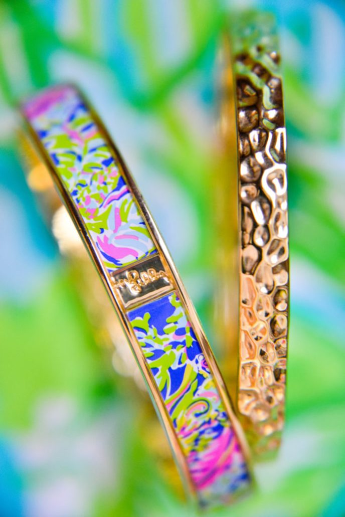 Lilly Pulitzer Bracelet Product Photography