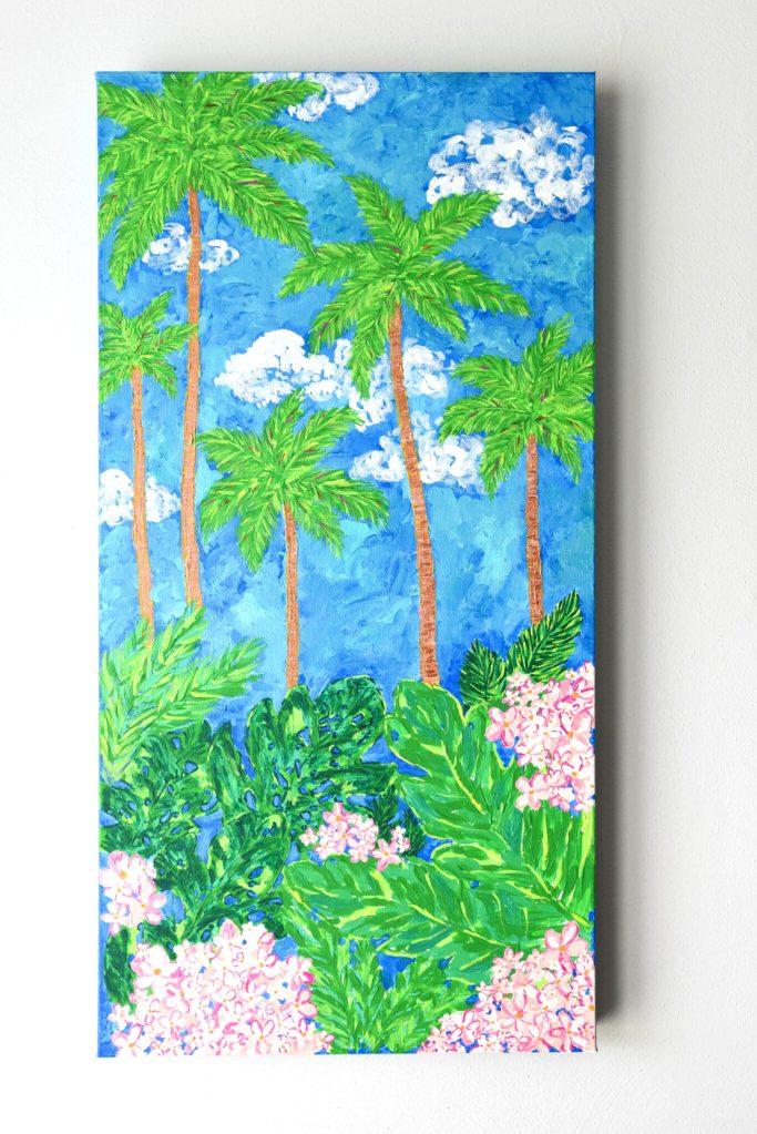 Palm Tree - Acrylic Painting