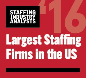 Staffing Industry Analysts Largest Staffing Firms in the US 2016