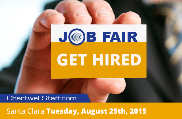 Santa Clara Job Fair Tuesday, August 25th, 2015