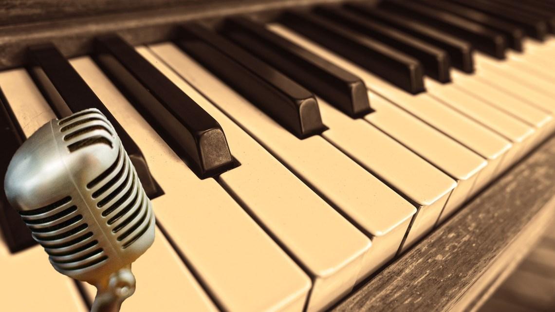 Singer inside Music Composer
