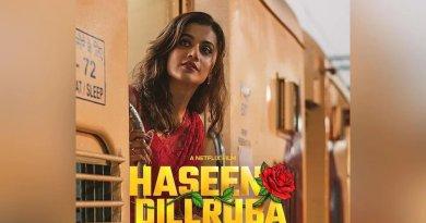 Haseen Dillruba Poster