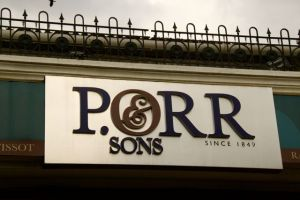 P Orr watch store