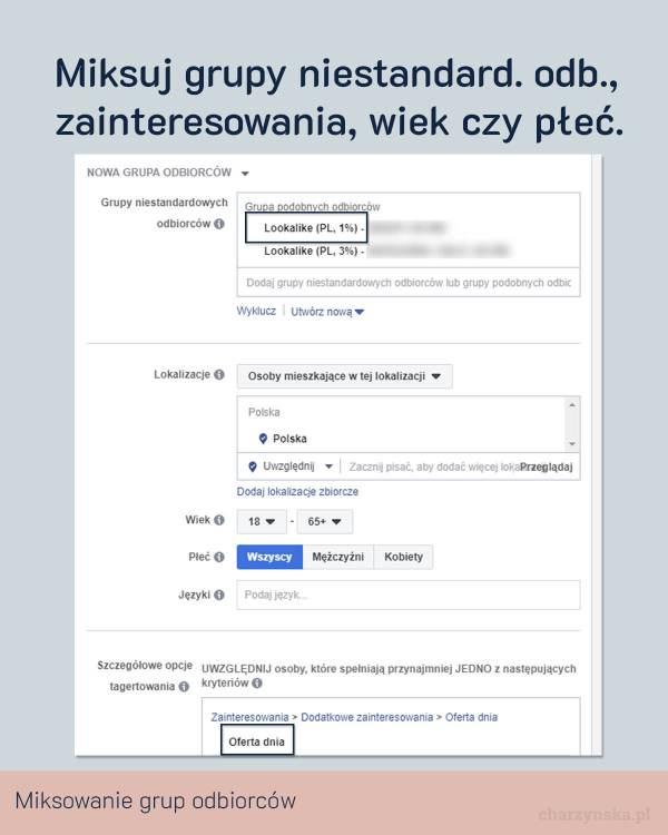 Jak zoptymalizować reklamy na Facebooku? Pkt 5